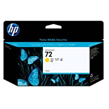 HEWLETT PACKARD 72 130ml Yellow Ink Cartridge For HP Designjet T610 And T1100...