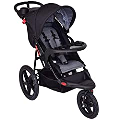 Description This lightweight jogger stroller is an ideal all-terrain stroller for your baby! Lightweight-yet sturdy-design makes it a perfect stroller for any on-the-go mom. The deluxe parents tray features a smartphone cradle. Moms love the ...