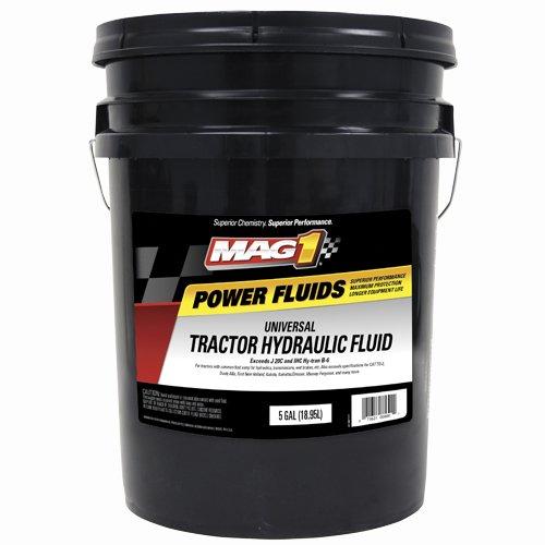 Mag 1 525 Premium Universal Tractor Hydraulic Transmission Fluid - 5 Gallon, (1 each)