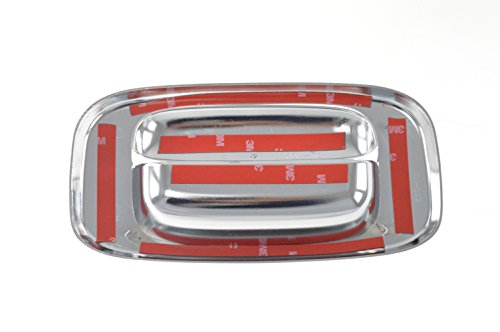 Fits 99-06 GMC SIERRA 1500/CHEVY SILVERADO 1500 W/O HOLE - Chrome Tailgate Handle Covers