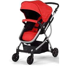 Urbini Omni Solo Versatile Convertible Stroller, Red by Urbini