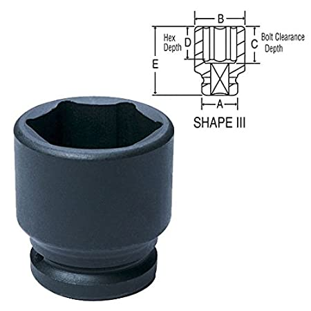 Grey Pneumatic 3066R Socket