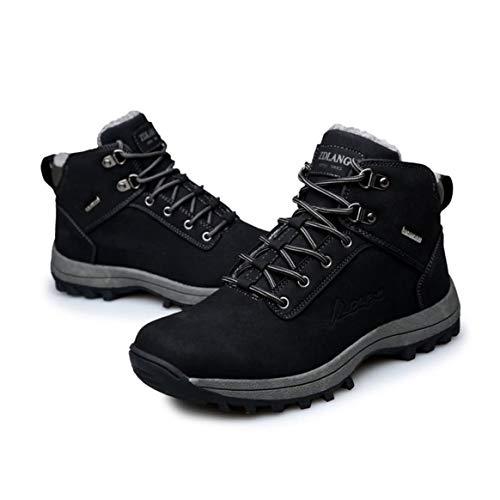 Marche Au Hiver Chaussures Hommes Mâle Chaud D'escalade Confortable Garder Coton Randonnée Épaissi Plein Sneakers Sport Air Bottes En Montagne rrS5Ozqxw