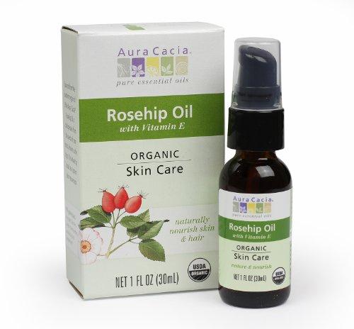 Aura Cacia Skin Care Organic Rosehip Oil, 1 Fluid Ounce