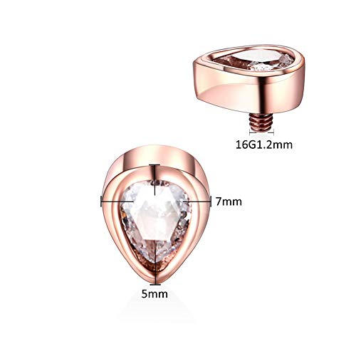 Buy dermal piercing jewelry gold
