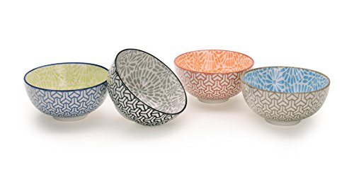 signature-housewares-pad-print-bowls-pp2-set-of-4-assorted-45-inch-bowls-12-oz
