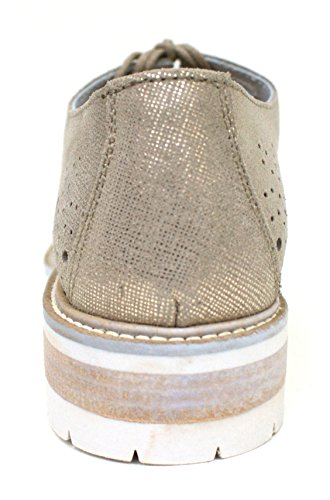 Cafè Noir Sneaker Women Francesina Perforated Platinum Platinum go8Jes