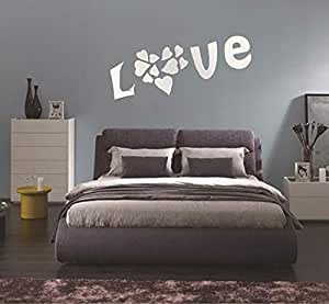 DIY Acrylic Love Wall Stickers