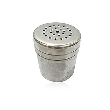 Demarkt Gew/ürzstreuer Glas mit Extra Aromadeckel