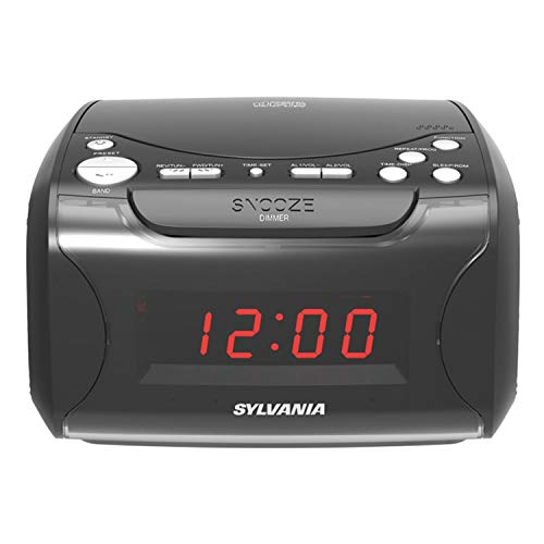 Sylvania Alarm Clock Radio with CD Player...
