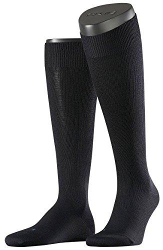 Falke Mens Energizing Wool Knee High Socks - Dark Navy - Large