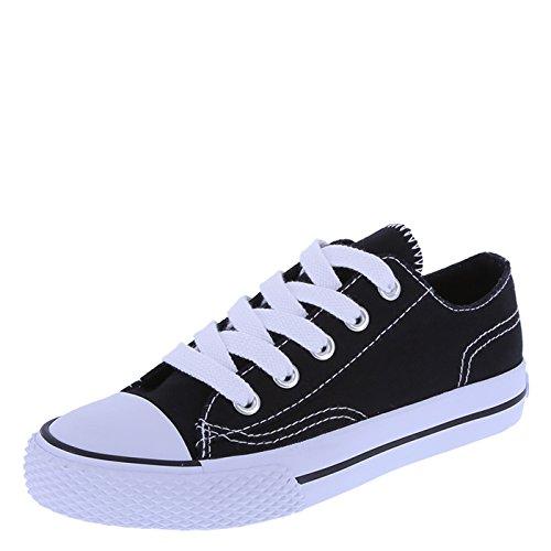 Airwalk Kids' Black White Kids' Legacee Sneaker 1 Regular