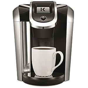 Keurig K475 Coffee Maker, Single Serve K-Cup Pod Coffee Brewer, Programmable Brewer, Black 4