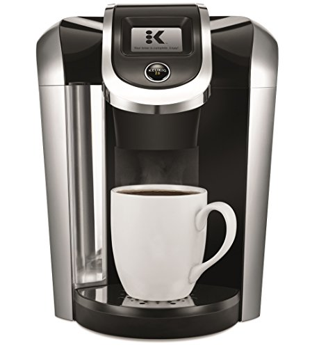 Keurig K475 Single Serve K-Cup Pod Coffee Maker with 12oz Brew Size, Strength Control, and temperature control, Programmable, Black (Clock 30 1)