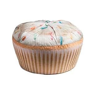 Wow! Works Cupcake Adult Beanbag Chair (86783A )