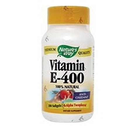 Vitamin E - 400 IU, 100 soft gel ( Multi-Pack)