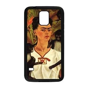 wugdiy Customized Hard Back Case Cover for SamSung Galaxy S5 I9600 with Unique Design Frida kahlo