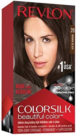 Revlon Colorsilk Tinte 20 Negro Natural - 1 Unidad