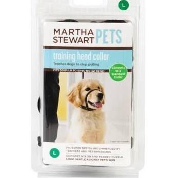 Martha Stewart Pets Training Head Collar~SMALL~