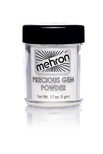 Mehron Makeup Precious Gem Powder Eye Makeup, Diamond .17oz Shaker Jar