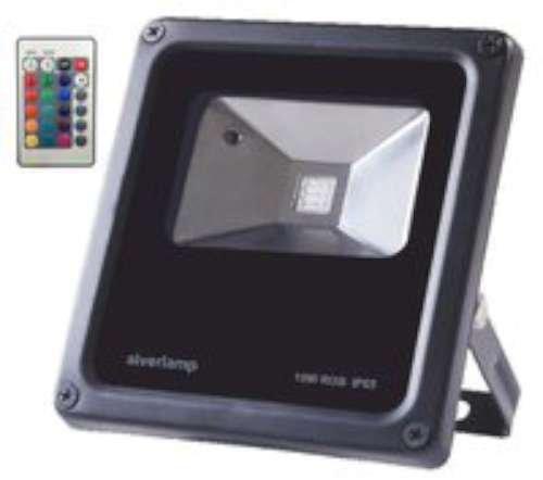 Alverlamp LPRO50RGB - Proyector led 50w rgb+mando: Amazon.es ...