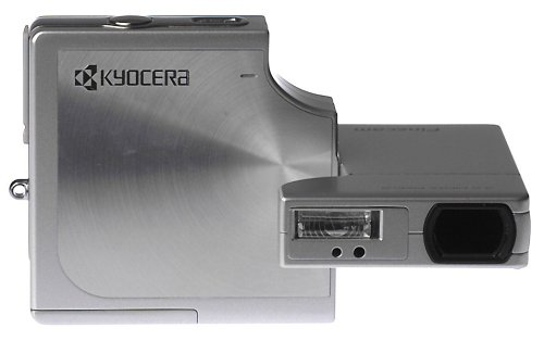 Kyocera Camera Memory - Kyocera SL300R 3.17MP Digital Camera with 3x Optical Zoom