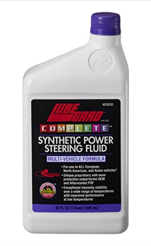 - Lubegard 23232 Complete Synthetic Power Steering Fluid, 32 fl. oz.