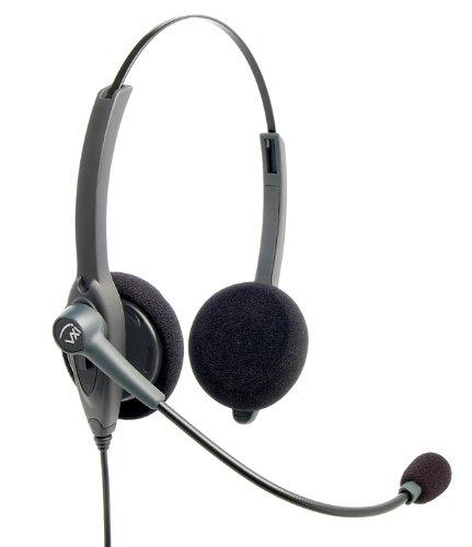 Universal Foam Headset Microphone Cushions (Windscreens) | 10-pack | Use with Plantronics, GN, Jabra, Logitech, Panasonic, VXi -14101-03 Photo #4