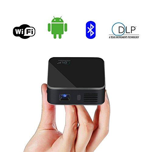 HTLL Intelligent Projector Googleplay Smartphone