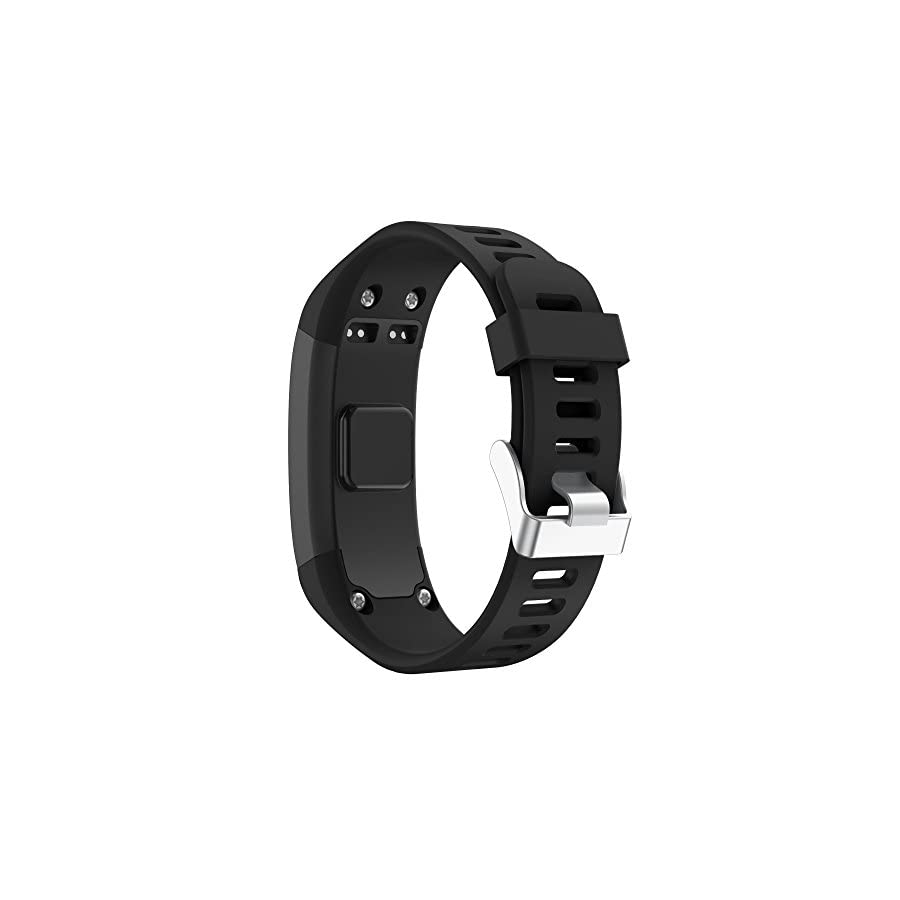 YASPARK Compatible Garmin Vivosmart HR Bands, Replacement Soft Silicone Bracelet Sport Strap Wristband Accessory with Screwdriver for Garmin Vivosmart HR (NOT for Vivosmart HR+)