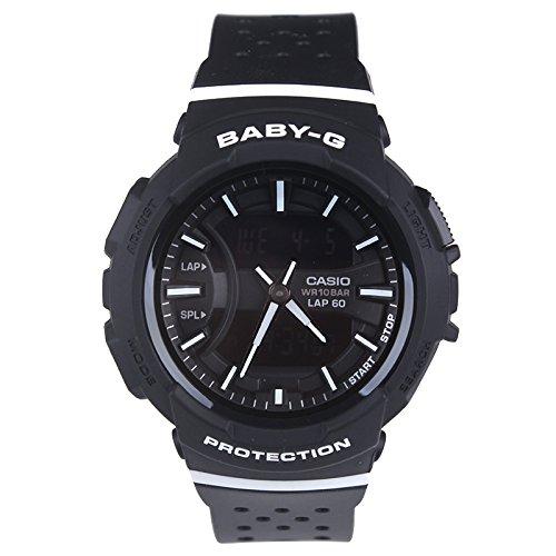 Casio Baby-G BGA-240 Two-Tone Series Black White Watch BGA240-1A1