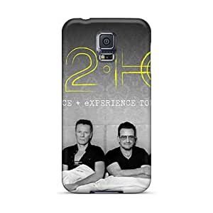 Samsung Galaxy S5 Eae10186QMOs Unique Design Trendy U2 Series Protective Cell-phone Hard Cover -Marycase88