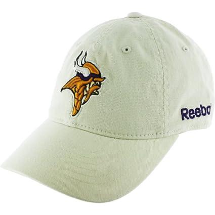 Large X-Large Khaki Norseman Logo Minnesota Vikings Hat (Adult) FlexFit ( 6e74866be