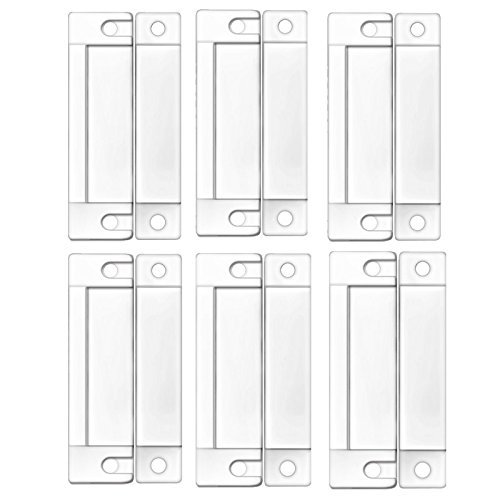 White Door Window Contacts Magnetic Reed Switch Sensor - 9