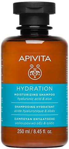 Apivita Champú Hidratante con Hialurónico y Aloe 250 ml: Amazon.es: Belleza