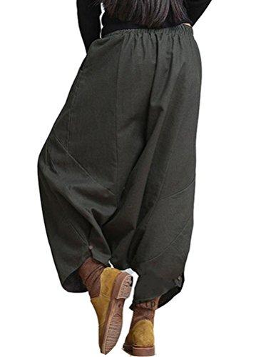 Vert Foncé Matchlife Harem Femme Nouveau M001 Pantalons xZUXBq