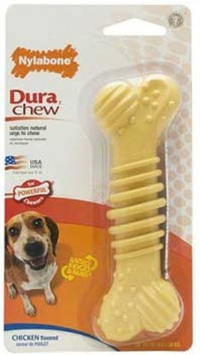 Nylabone Dura Chew Plus Wolf Chicken, My Pet Supplies