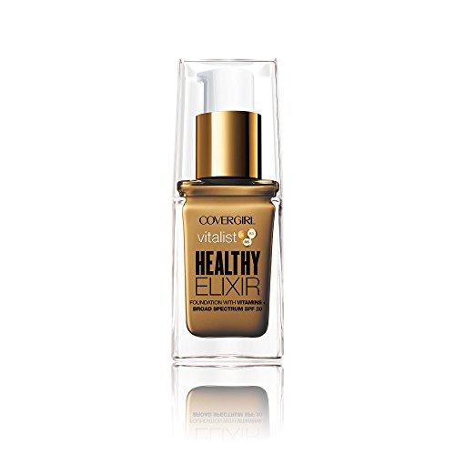 Covergirl Vitalist Healthy Elixir Foundation, Soft Sable 775, 1 Ounce