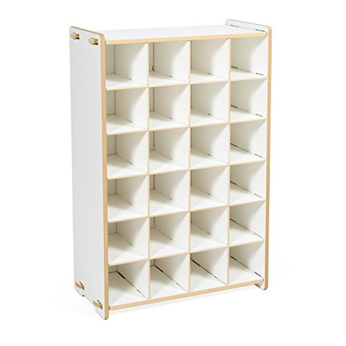 Sprout White Shoe Cubby Shelf product image