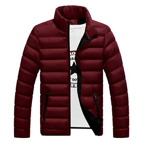 Longues Blouson Capuche Coton En Veste Manches Homme Hiver Manteau Rouge Parka Coupe Chaud Doudoune Épais vent À Fq86WBYw