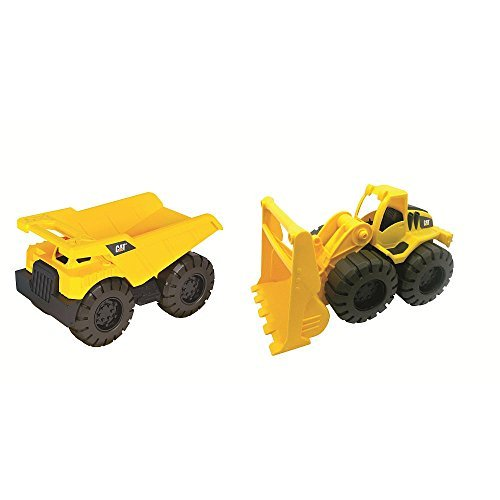 A la venta con descuento del 70%. Cat Tough Trucks Dump Truck Truck Truck And Wheel Loader by Juguetestate  aquí tiene la última