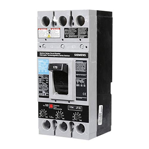 - Siemens FXD63B175 175 Amp Type FXD6-A Circuit Breaker