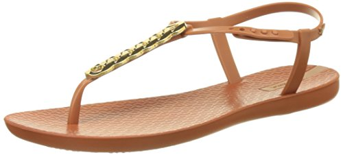 Ipanema Links, Sandalias con Tira a T para Mujer Marron (Brown/ Brown)
