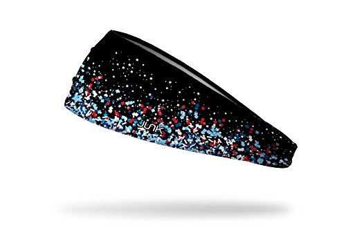 JUNK Brands Sweet Freedom Big Bang Lite Headband, Black, One Size by JUNK Brands