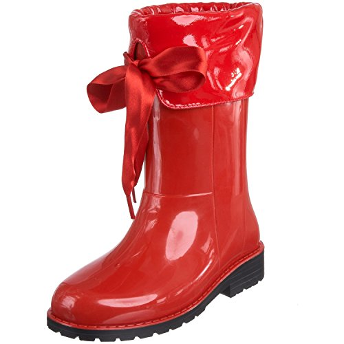 Tty Xerise, Boots fille - Bottes de pluie fourrées - Rouge 32 …