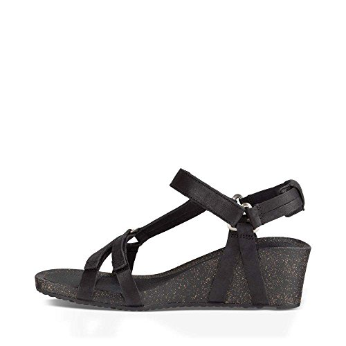Teva Women's W Ysidro Universal Wedge Sandal, Black, 8 M US by Teva (Image #2)
