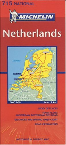 Michelin Netherlands: Motorist And Touring Guide (Michelin Maps) (Multilingual Edition)