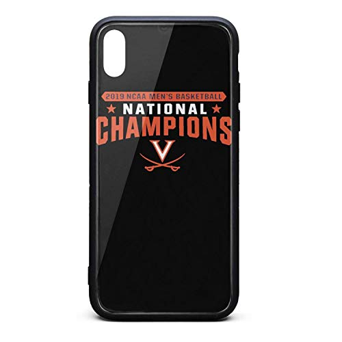 Basketball Phone Covers for iPhone Xs Special Mobile Covers Slim Suitable for Apple Cell Phone Scratch Resistant Fashionable Glossy - Classic Virginia Shirt
