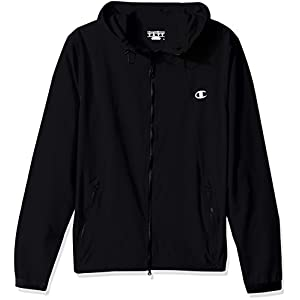 Champion Men's 365 Reflective Training Jacket, Black, 2XL