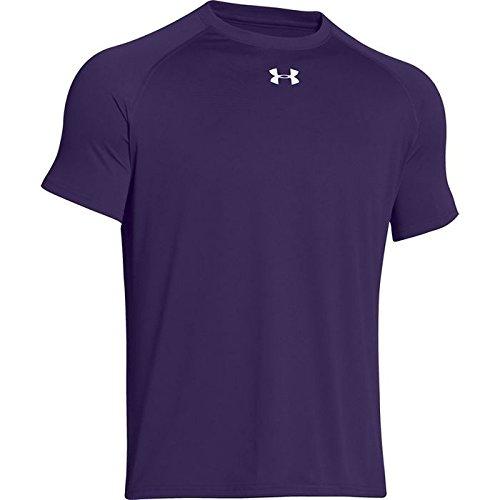 Under T Camiseta Armour Púrpura Técnica Locker qFwa7xqT